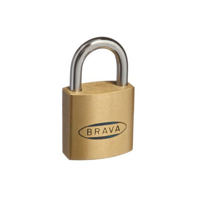BRAVA PADLOCK 30mm KEYED ALIKE