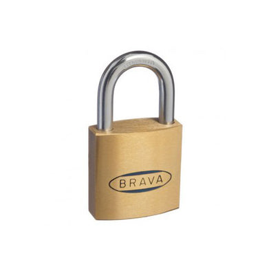 BRAVA PADLOCK 40mm KEYED ALIKE