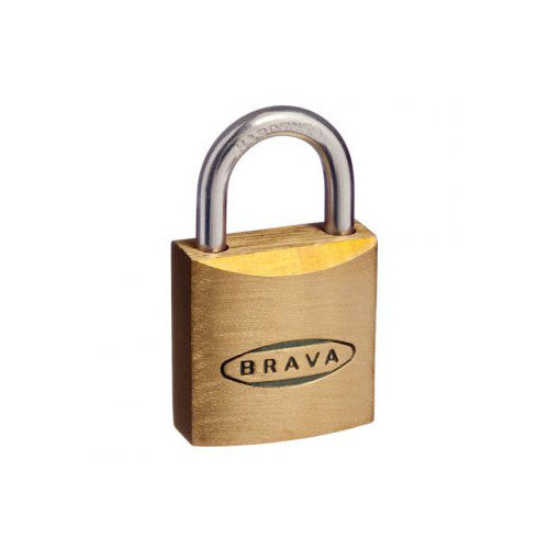BRAVA PADLOCK 20mm KEYED ALIKE