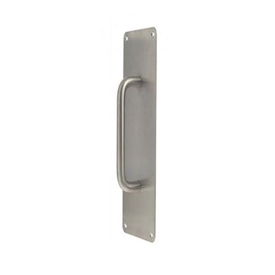 RITEFIT D PULL HANDLE ON PLATE 300MM X 75MM