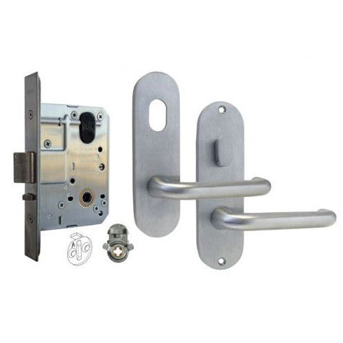 DORMAKABA MS2 ENTRANCE MORTICE LOCK KIT 100 SERIES ROUND END FURNITURE