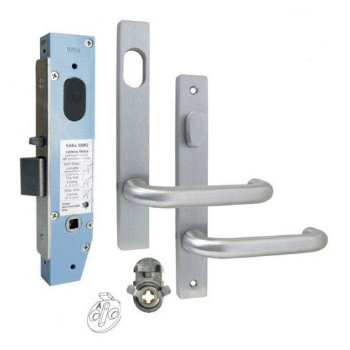 KABA SBM2 NARROW MORTICE ENTRANCE LOCK KIT N600 SERIES SQUARE END ...