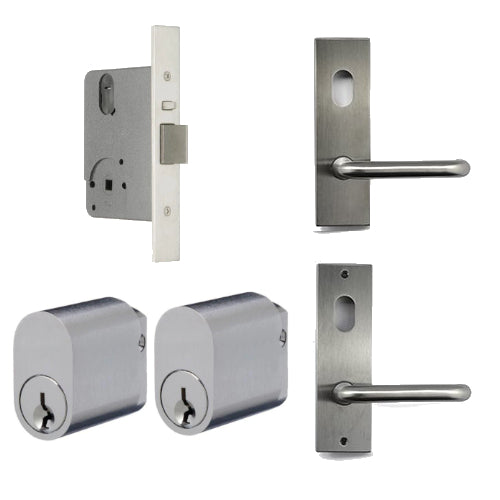 LEGGE 990 DOUBLE CYLINDER MORTICE LOCK KIT