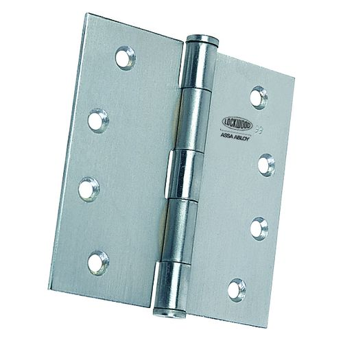 LOCKWOOD HINGE FIXED PIN 100MM x 100MM x 2.5MM