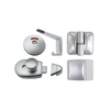 METLAM MODA RANGE TOILET PARTITION HARDWARE KIT