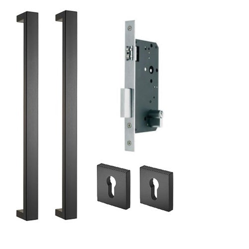 Buy Gainsborough 600mm Oblong Pull Handle Lock Set Online