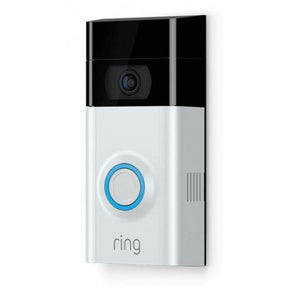 RING VIDEO DOORBELL 2 KIT 1080p SATIN CHROME/VENETIAN BRONZE