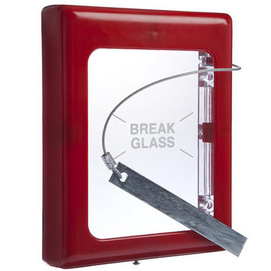 STI BREAK GLASS KEYBOX LARGE 4100