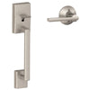 SCHLAGE CENTURY FRONT ENTRY HANDLE AND LATITUDE LEVER