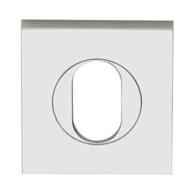 LOCKWOOD VELOCITY OVAL CYLINDER SQUARE ESCUTCHEON VSS6