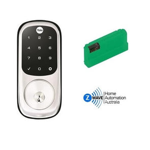 YALE ASSURE KEYED DIGITAL DEADBOLT ZWAVE KIT