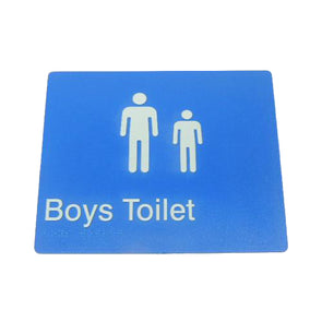 BOYS TOILET SIGN