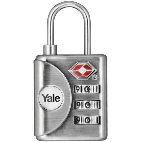 YALE TRAVEL SAFE PADLOCK (TS CERTIFIED)