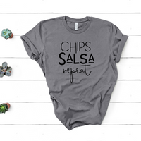 Chips Salsa Repeat Tee - The Original