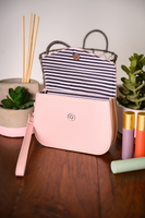 Liza Essential Oil Clutch- Blush