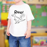 Happy Dinosaur Tee