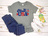 Made in the USA (YOUTH)- Athletic Heather