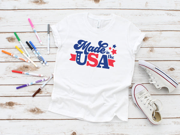 Made in the USA (YOUTH)- White