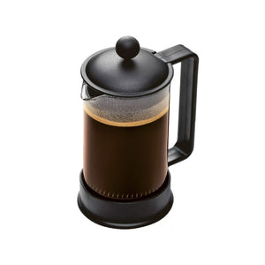 BODUM ~Brazil 3 Cup / 12oz French Press Coffee Maker, Black