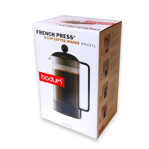 BODUM ~ French Press 8 Cup Coffee Maker Brazil
