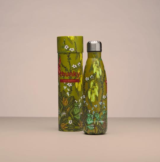 Flora Aotearoa Insulated Drink Bottle