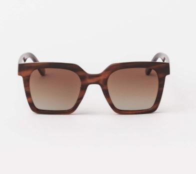 Milan Wood Sunglasses