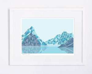 Milford Sound Geometric