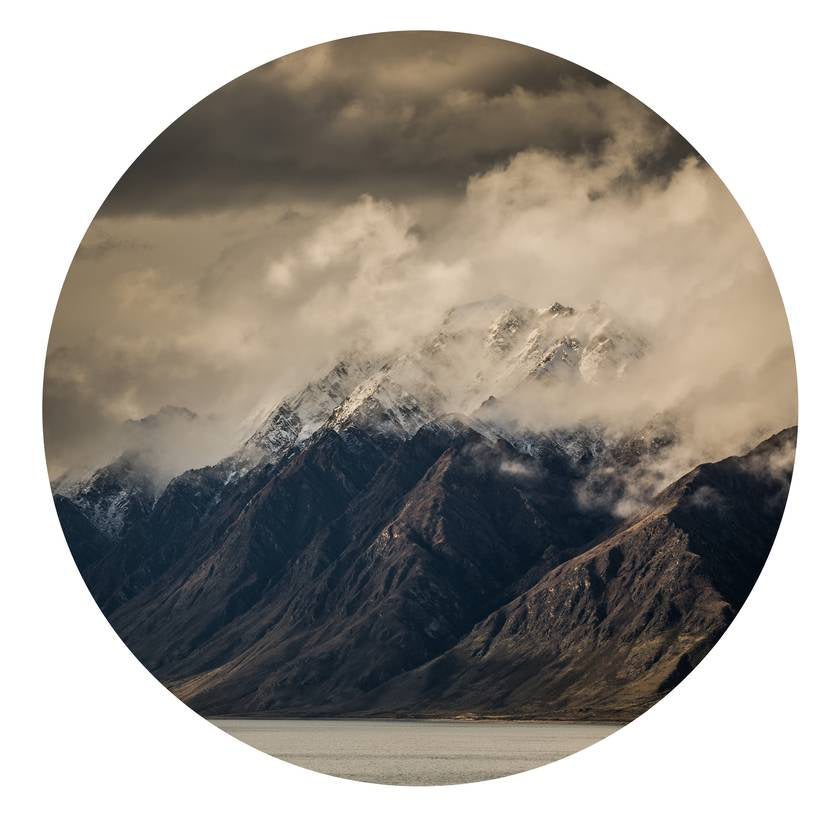 Corner Peak Lake Hawea Art Dot