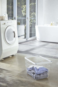Tower Wire Laundry Basket - Med