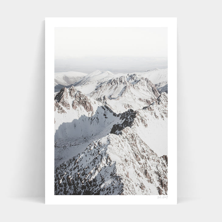 Mount Cook Print A3