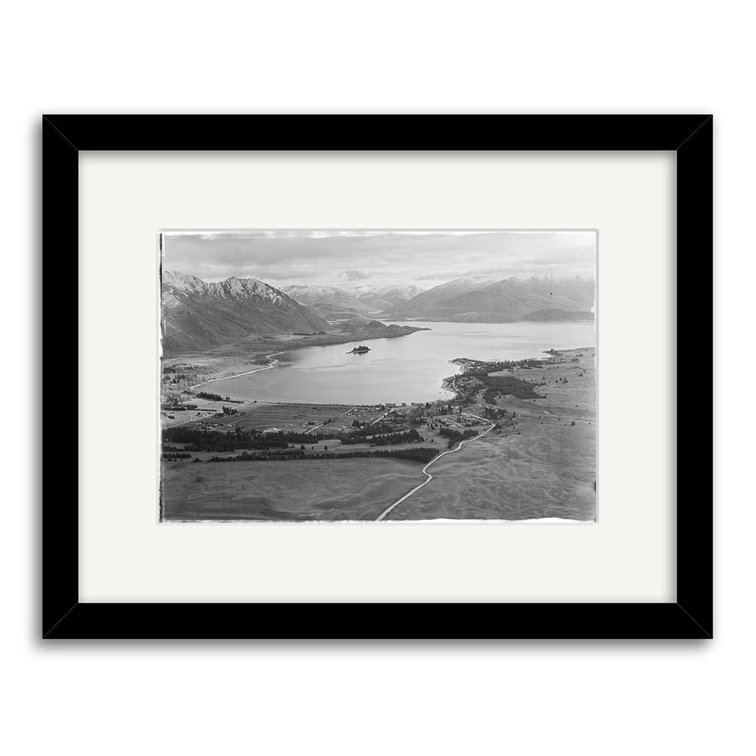 Lake Wanaka 1951 - Framed