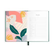 Load image into Gallery viewer, The Traveller Mini Travel Diary - Green