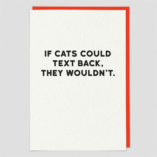 If Cat's Could Text Back.. Gift Card