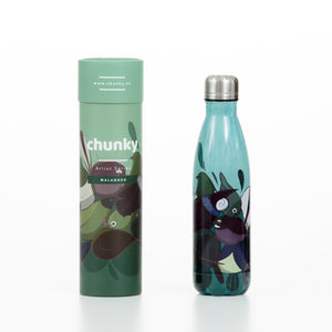 Birds of NZ Insulated Drink Bottle