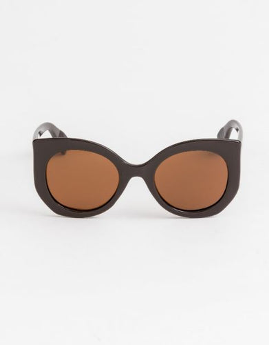 Lola Dark Brown Sunglasses