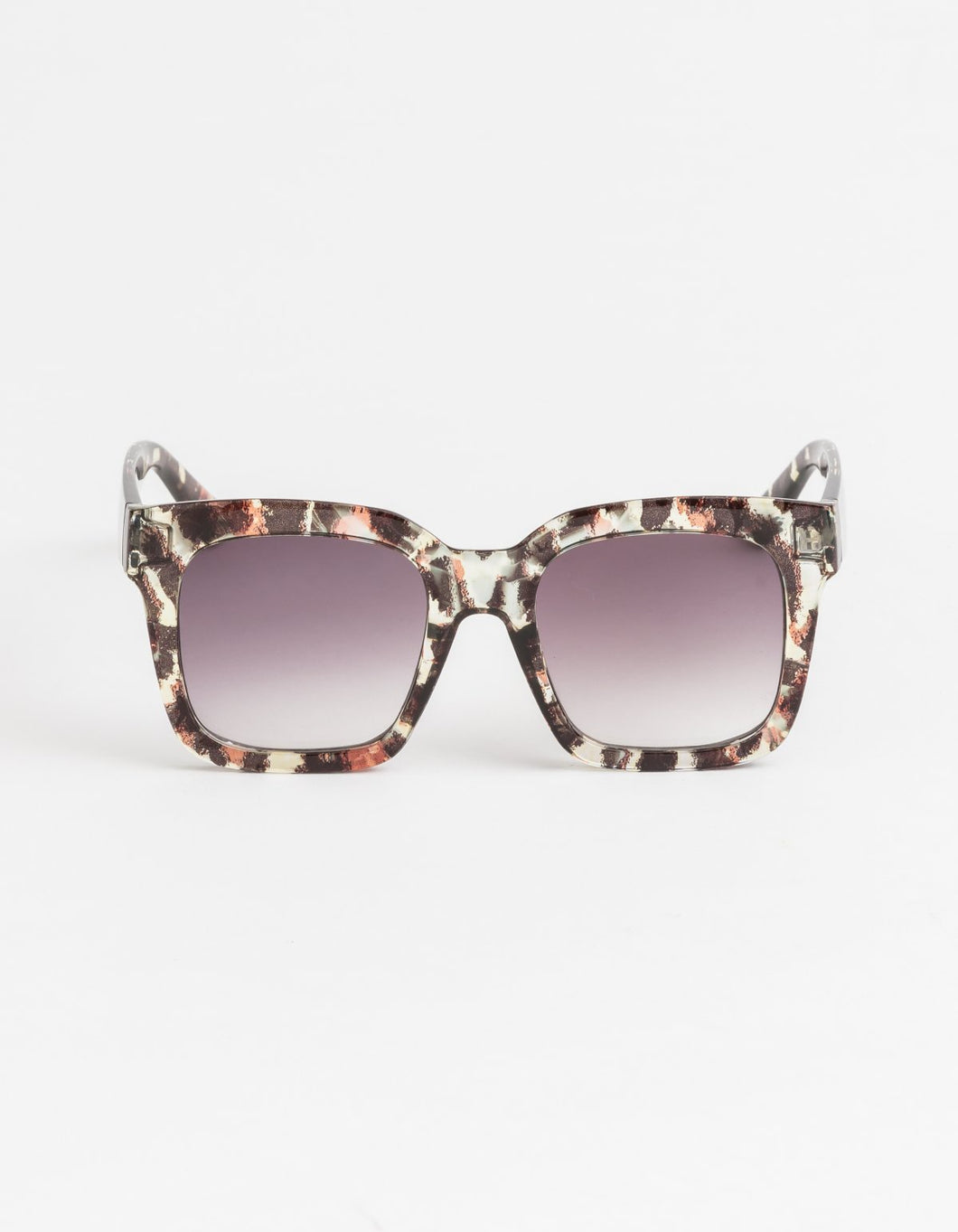 Gwyneth Leopard Brown Sunglasses