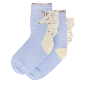 Unicorn Sparkle Socks 3-5 Years