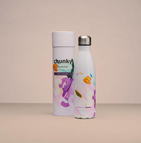Breathe In, Breathe Out Insulated Drink Bottle