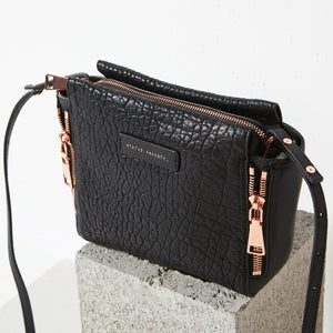 Ascendants Bag - Black Bubble & Rose Gold
