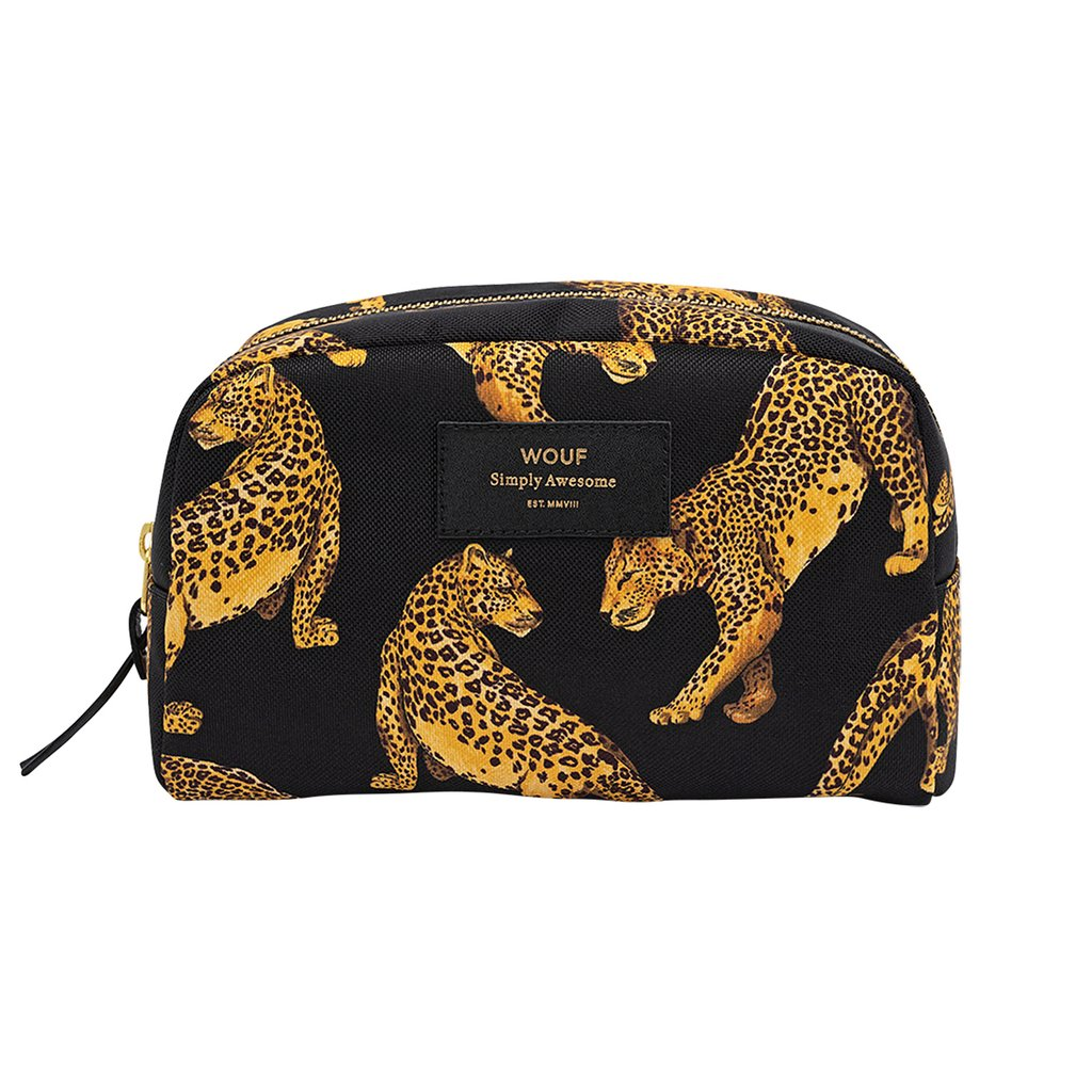 Big Beauty Bag - Black Leopard