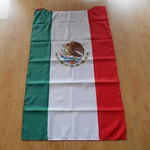 Mexican Flag Cape