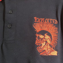 The Exploited - Black Polo with Red Trim