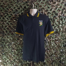 Blitz - Embroidered Polo - with yellow trim