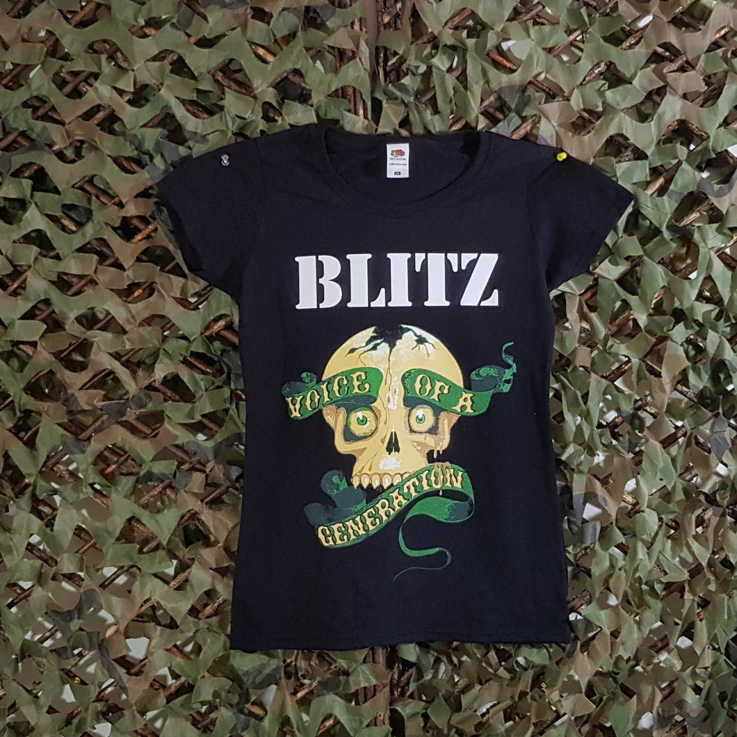 Blitz - Voice Of A Generation - Girls Tee