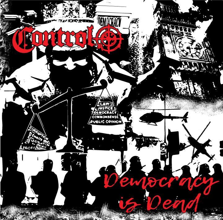 Control - Democracy Is Dead - Black Vinyl - Album
