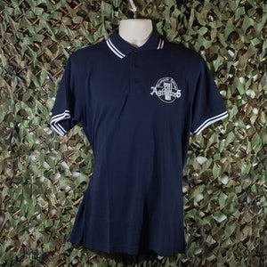 The Agitators - Navy Polo Shirt with Embroidery