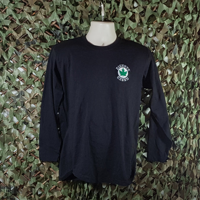Bishops Green - Long Sleeve T-Shirt with Embroidered Logo