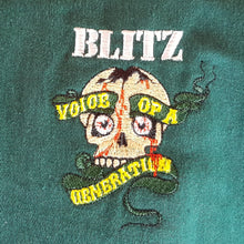 Blitz - Voice Of A Generation - Harrington Jacket w/ Front Embroidery only