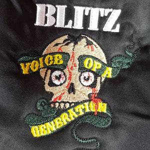 Blitz - Voice Of A Generation - Embroidered MA-2 - Flight Jacket