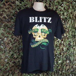 Blitz -  Voice of a Generation - Men's Black T-Shirt